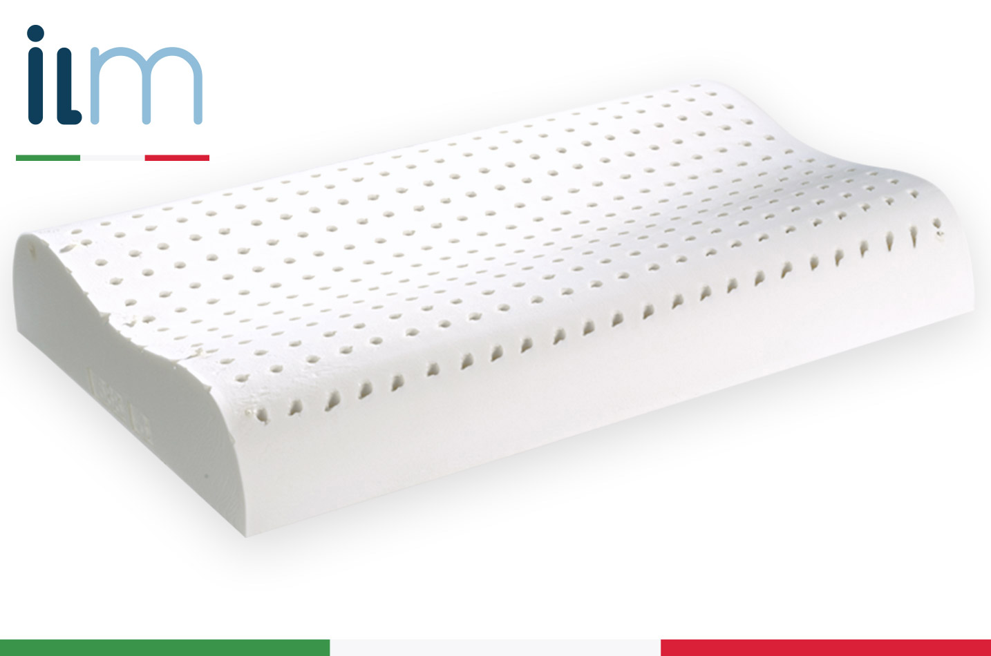 Cuscino in lattice cervicale ergonomico federa - Cuscini letto per cervicale ...