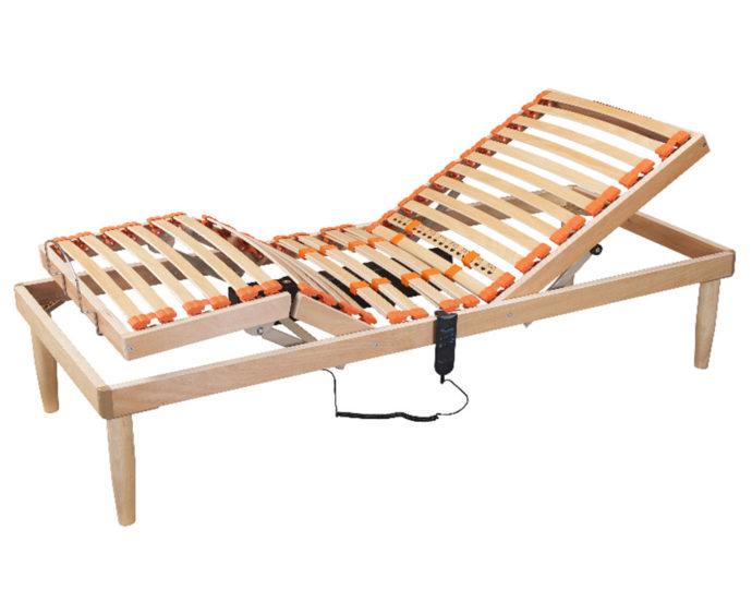 Rete a doghe in legno di faggio motorizzata ortopedica sanitaria siviglia italiana letti e - Reti per materassi ikea ...
