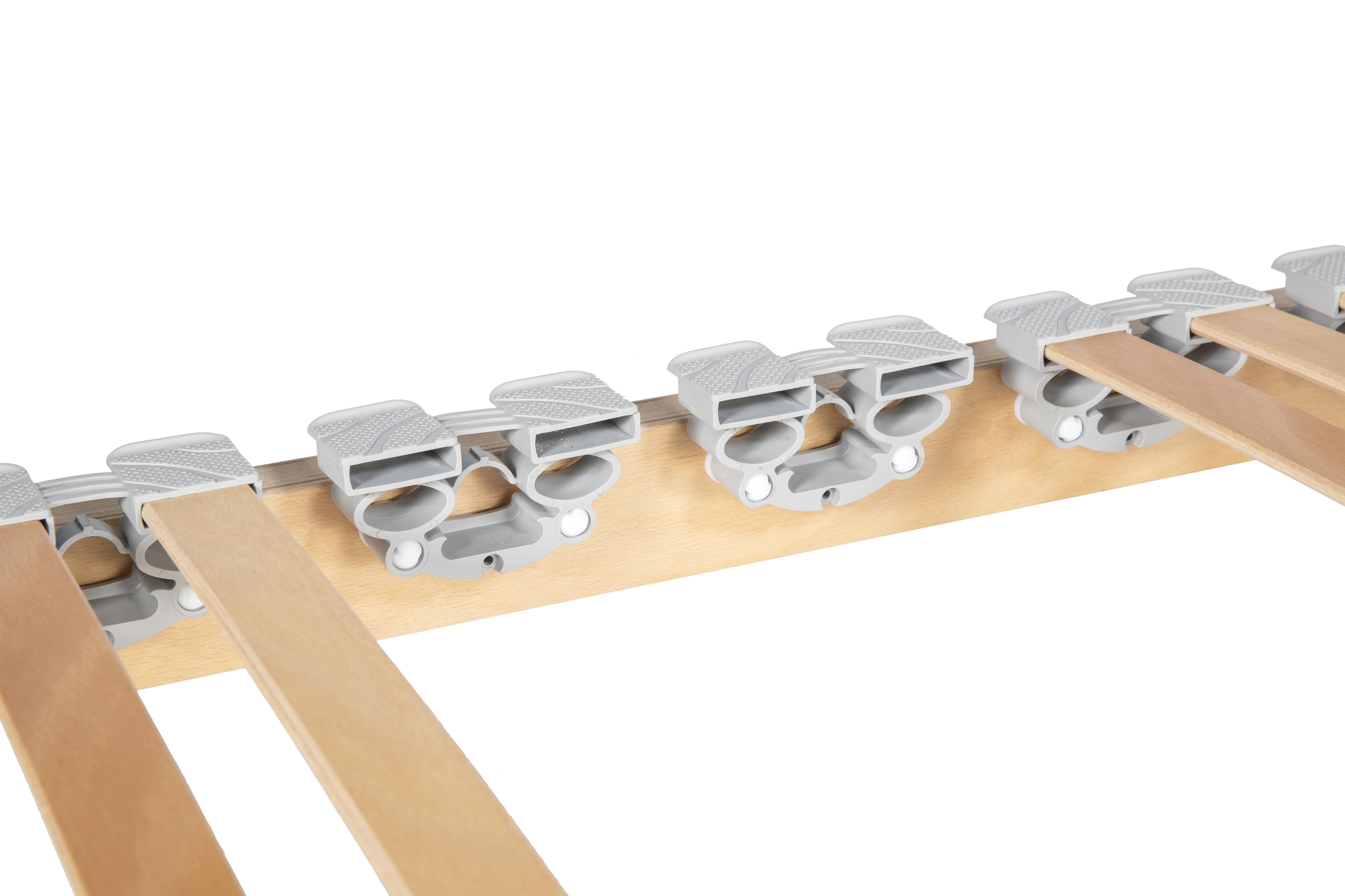 Rete a doghe in legno di faggio fissa ortopedica sanitaria venere