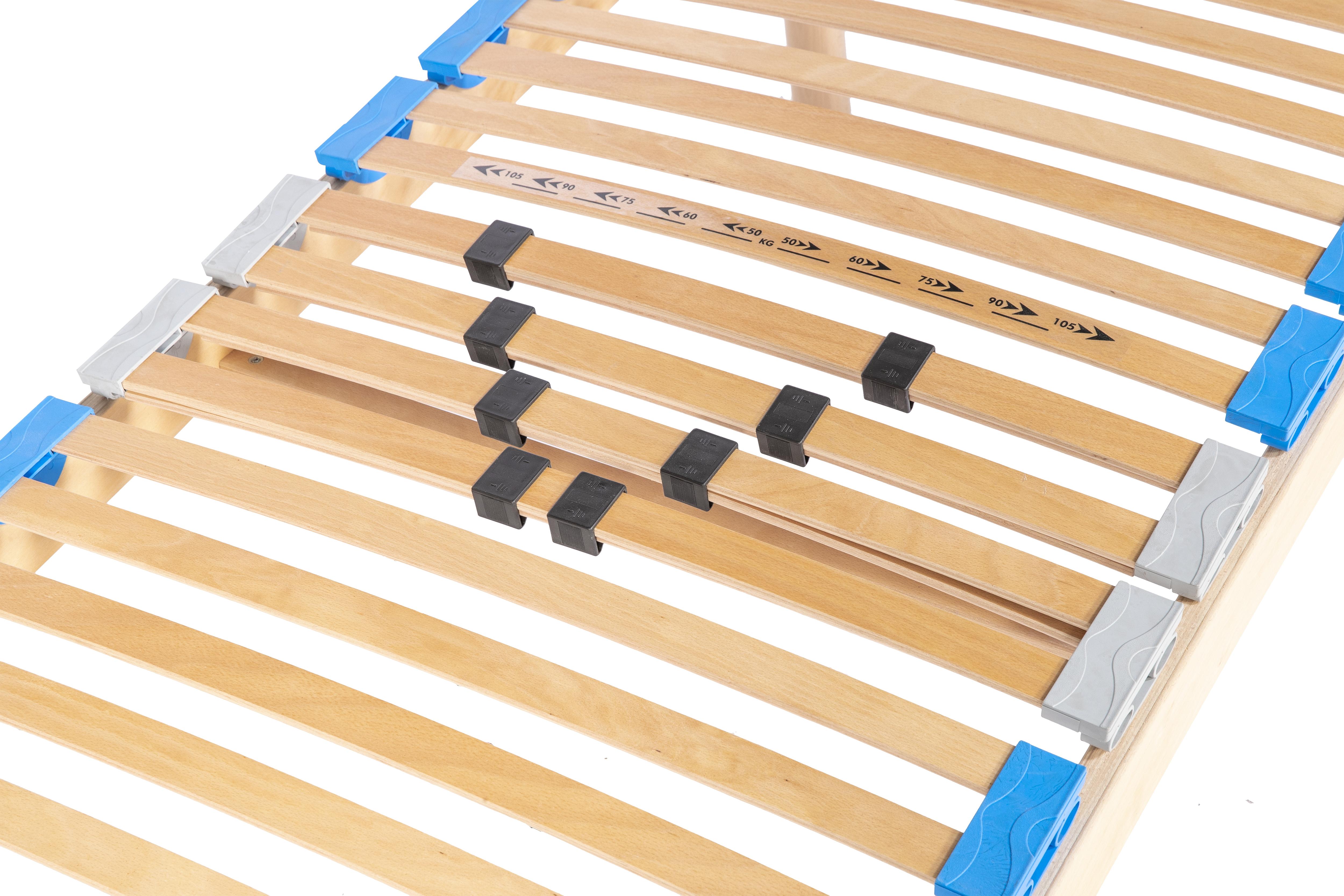 Rete a doghe in legno di faggio motorizzata ortopedica sanitaria